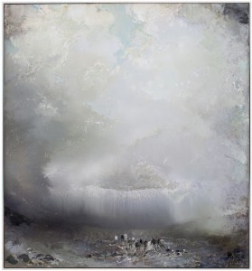 """""""Anabasis (extreme)"""", 2012, show's Tuomo Saali's masterful sense of color and technique in oils, and a fresh interpretation of a classic theme, Man and/versus Nature."""