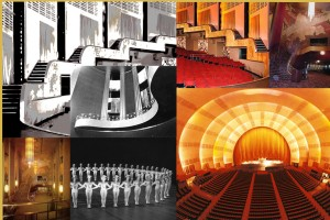 "Radio City Music Hall was completed in 1932. With 6 000 seats and showing movies and song-and-dance spectacles, it became ""the people's palace"", and the home for The Rockettes, dancing girls famous for the precision footwork."